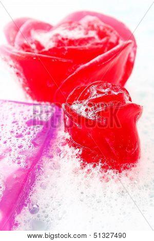 Glycerine Soap With Foam