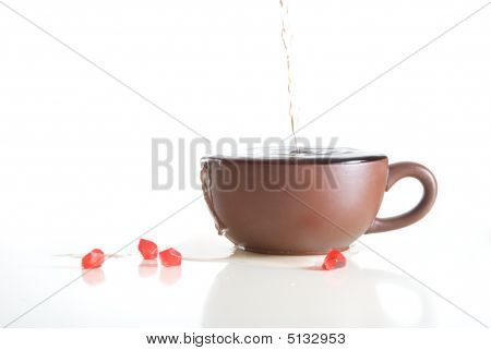 Overfilled Cup