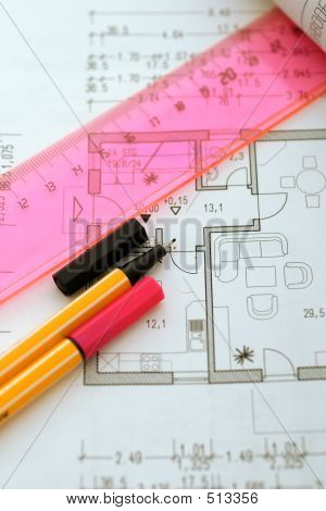 Planning Tools On Floor Plan