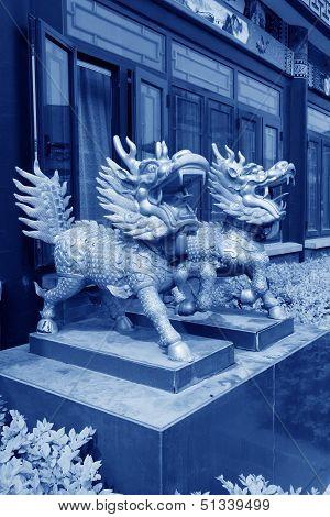 Kylin Sculpture