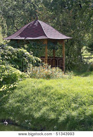 Beautiful Wooden Summerhouse