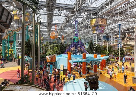 Mall Of America's Amusement Park In Bloomington, Mn On July 06, 2013