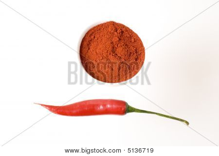 Dried Red Paprika