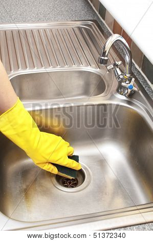 Hand Cleaning Sink
