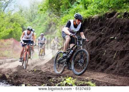 Mountainbike cross Country Rennen