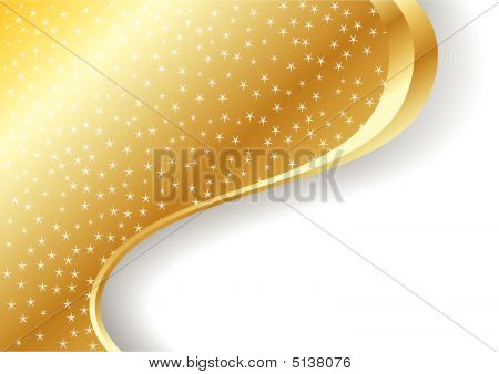 Vector Abstract Gold Background.eps