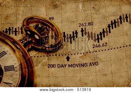 market timing concept poster
