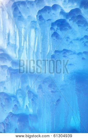 Frozen Waterfall Texture