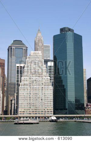 NYC Skyline Vertical
