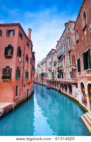 Canal From Calle Zancani Street
