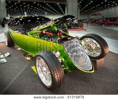 1933 Ford Victoria Interpretation