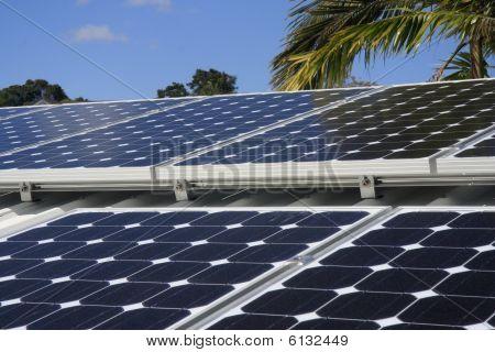 Solar Panes On House