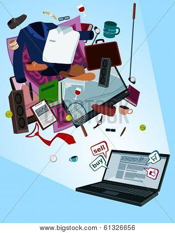 online shop for men