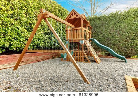 Backyard Playground For Kids