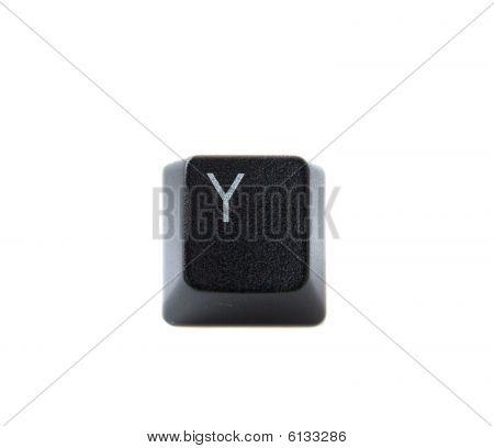Keyboard Letter Y