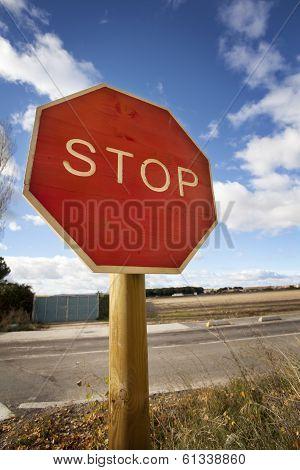 Stop Road Signal