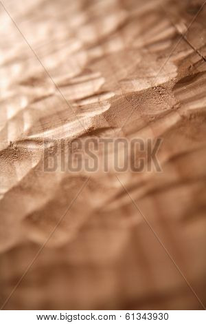 close up of carved wood