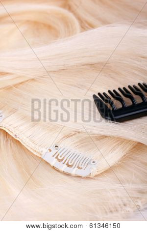Hair Blond Extensions