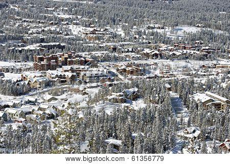 Breckenridge Winter Panorama