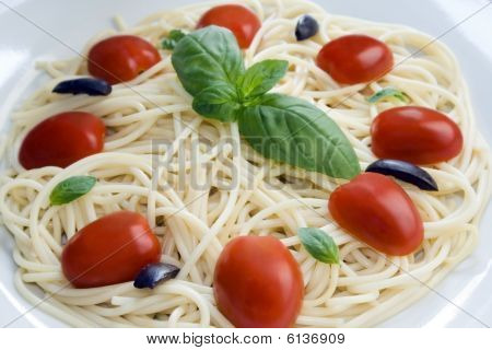 Spaghetti Close Up