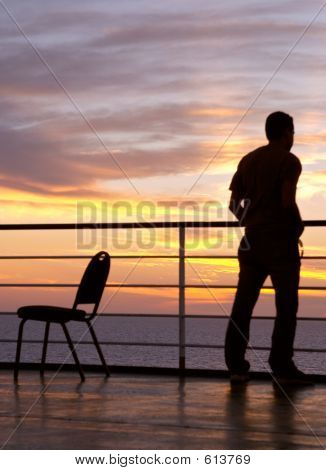 Man And Chair
