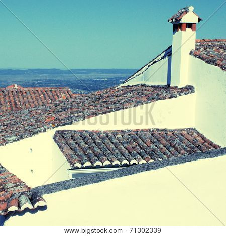 Old Tile Roofs (Portugal)