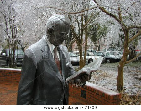 Iced Statue