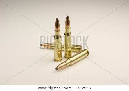 High power rifle ammunition