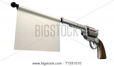 Pistol Surrender Flag