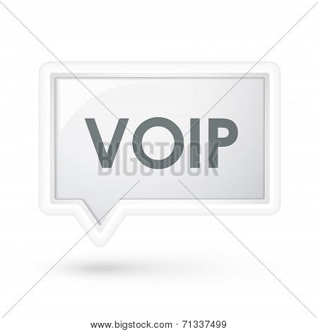 Void Word On A Speech Bubble