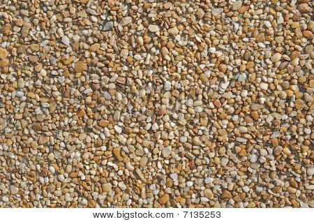 Background of pebbles.
