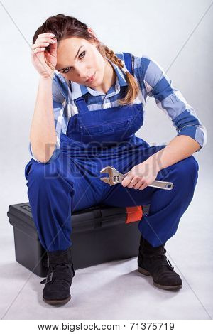Beautiful Sexy Handywoman