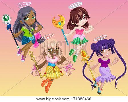 Cute Goddess Girls