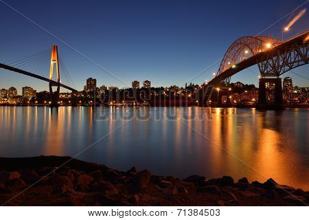 Pattullo Bridge and the Skybridge