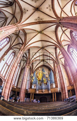 Beautiful Ceiling And Hall In The Dome In Wetzlar
