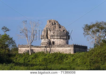Chichen Itza, Mexico - El Caracol Observatory Temple
