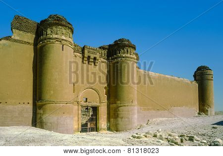 Qasr Al-hayr Al-sharqi Castle In The Syrian Desert