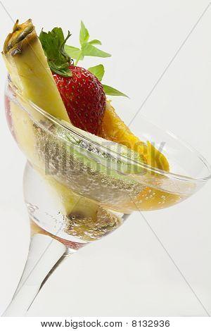 Fruit In Cool Bubbles