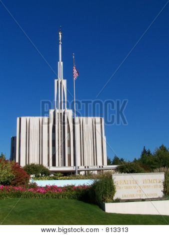 Seattle Mormon Temple 2