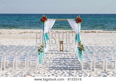 Wedding Beach Archway