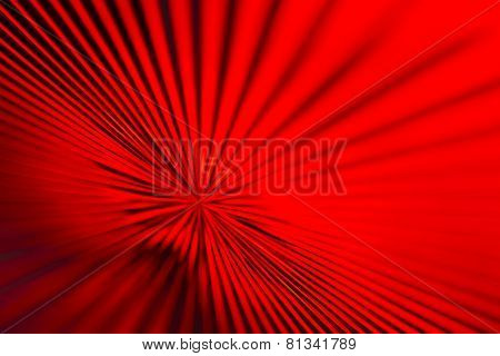 Red Glass Zoom Lines
