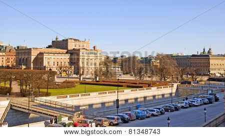 Stockholm. Sweden. The Royal Swedish Opera