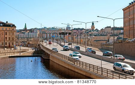 Stockholm. Sweden. Central Bridge