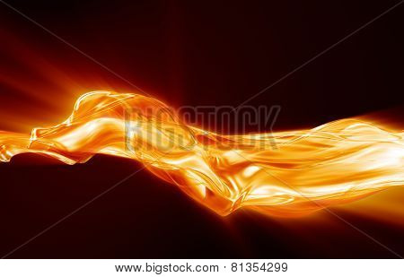 Flow Of Flame
