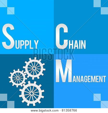 SCM - Supply Chain Management Four Blocks