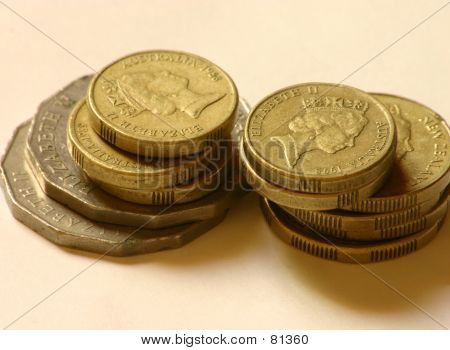 Coins Stacked