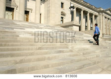 Man Walking Steps