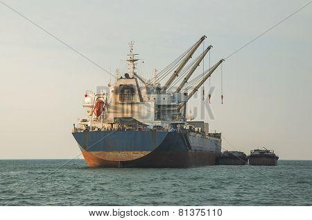 Cargo Container Ship.