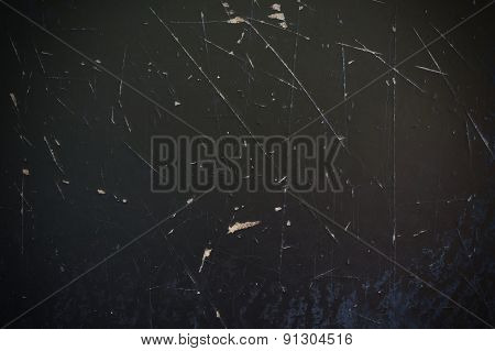 Old Black Board Wood Texture Background