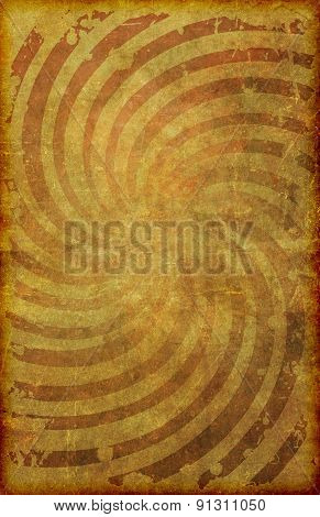 Grunge Vintage Swirl Pattern Poster Background